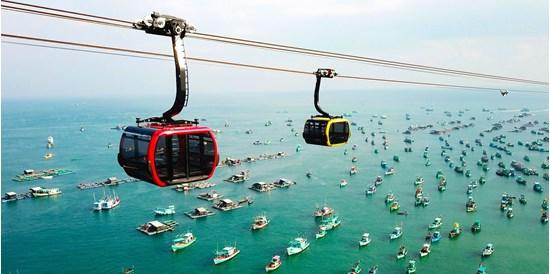 Vé cáp treo Sunworld Hòn Thơm Nature Park Phú Quốc giá rẻ