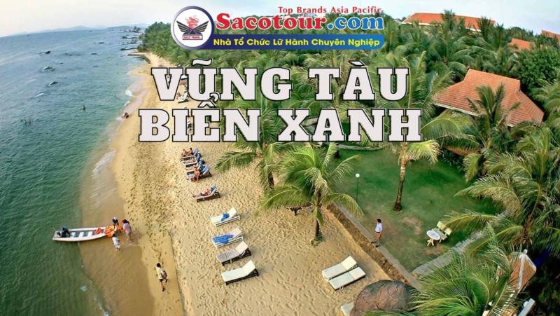 tour vũng tàu biển xanh cát trắng